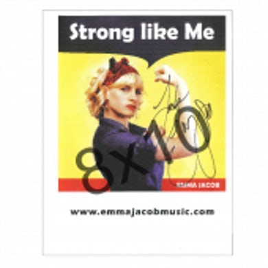 Emma Jacob - Autographed - 8x10- Album Cover