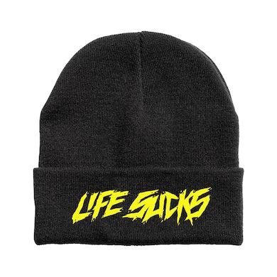 Lil Xan Life Sucks Beanie - Black
