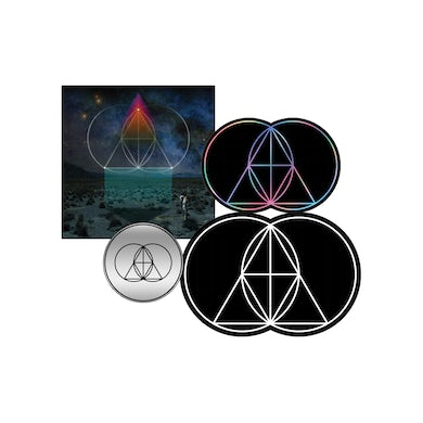 The Glitch Mob DRINK THE SEA PIN, PATCH & STICKER BUNDLE