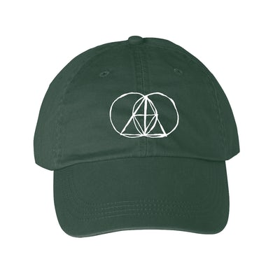 The Glitch Mob SKETCHED DAD HAT - SPRUCE