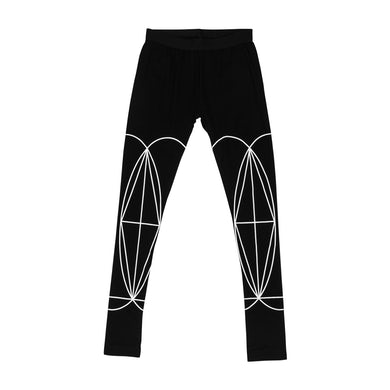 The Glitch Mob WOMEN'S DOUBLE SIDED GEOMETRY LEGGINGS