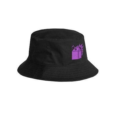 Hot Milk CHAOTIC BLACK BUCKET HAT