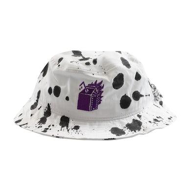 Hot Milk WHITE CARTON BUCKET HAT