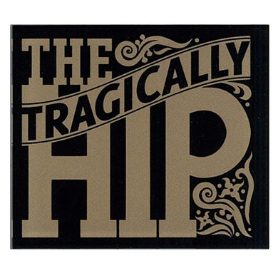 THE TRAGICALLY HIP Ornate Logo Magnet