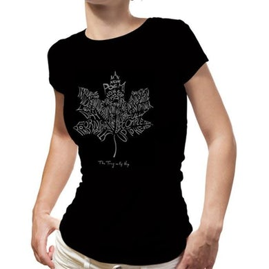 THE TRAGICALLY HIP Ladies Leaf T-Shirt
