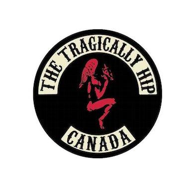 THE TRAGICALLY HIP Gargoyle Biker Logo Pin