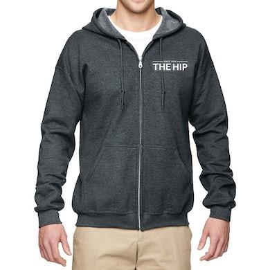 THE TRAGICALLY HIP Crest Zip Hoodie