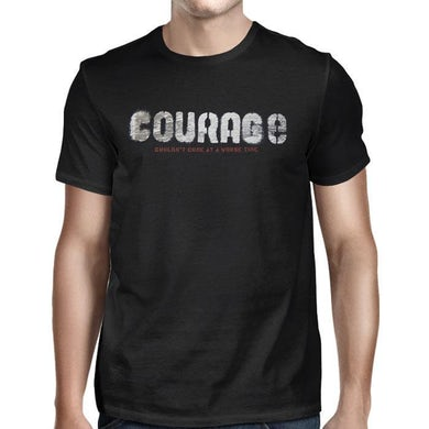THE TRAGICALLY HIP Black Courage T-shirt