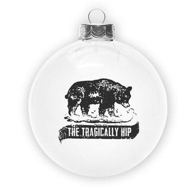 THE TRAGICALLY HIP Bear Ornament