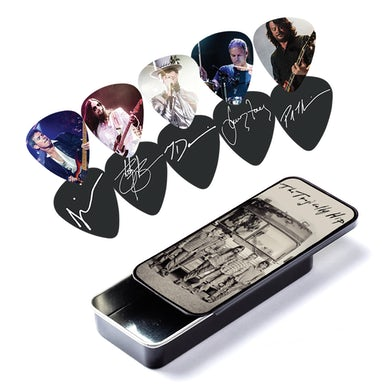 Guitar Pick Set & Tin