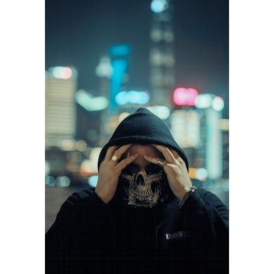 Black Tiger Sex Machine BTSM - Skull Bandana