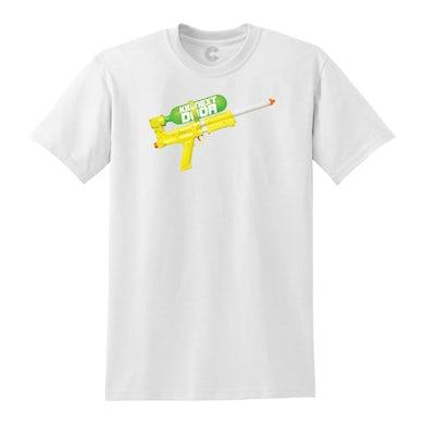 Super Soaker White T-Shirt