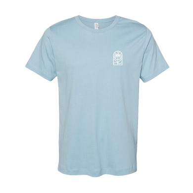Light Blue Socrates Quote Band Tee