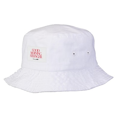 Good Morning Stranger Bucket Hat White