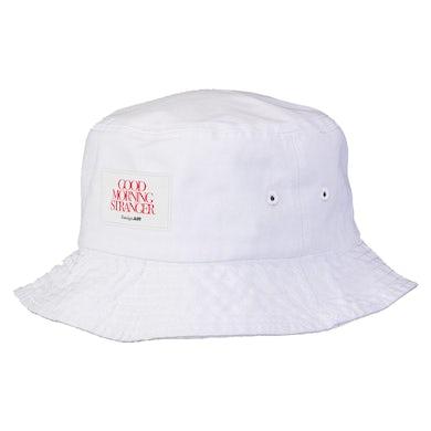 Good Morning Stranger Bucket Hat White