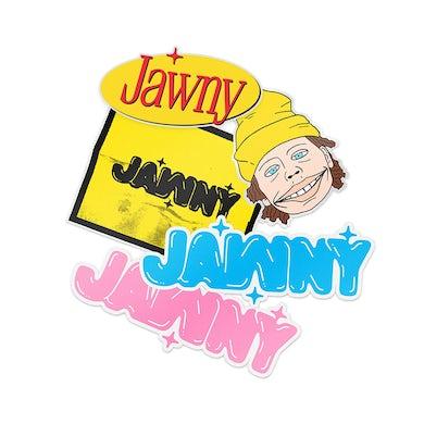 JAWNY Sticker Pack