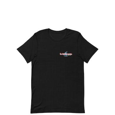 La Arrolladora Banda El Limón De René Camacho La Arrolladora - Black Small Logo Tee