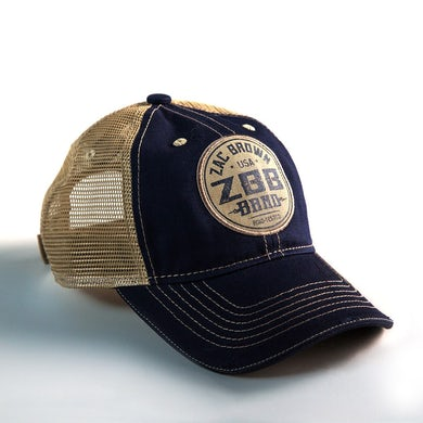 Zac Brown Band Road-Tested Patch Hat - Navy