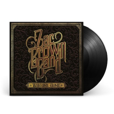 Zac Brown Band Welcome Home Vinyl