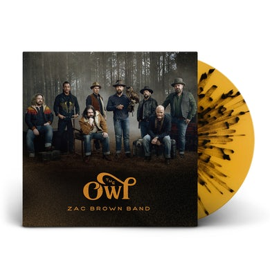Zac Brown Band The Owl - Deluxe Splatter Vinyl