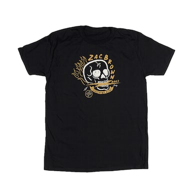 Zac Brown Band 2020 The Owl Tour T-Shirt - Skull