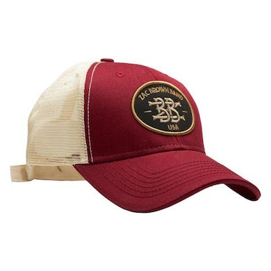 Zac Brown Band Monogram Patch Hat