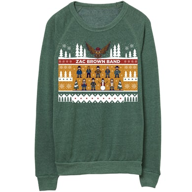 Zac Brown Band Holiday Sweatshirt