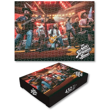 Zac Brown Band ZBB Puzzle