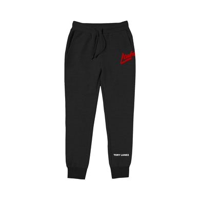 Tory Lanez Loner Black Fleece Joggers
