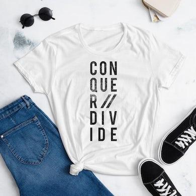 Conquer Divide Conquer // Divide t-shirt Women's