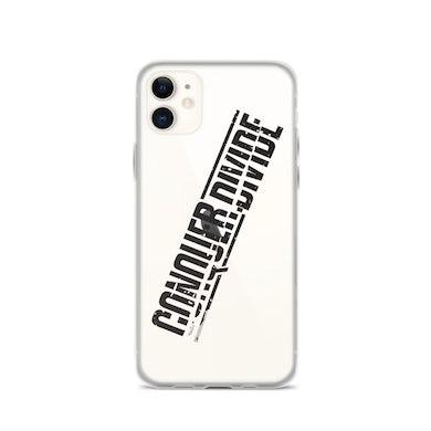 Conquer Divide iPhone Case