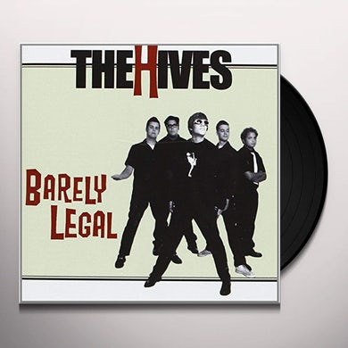 The Hives BARELY LEGAL BLACK VINYL 180GRAM