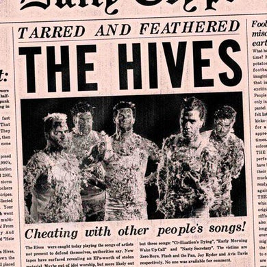 """The Hives TARRED AND FEATHERED 7"""" VINYL"""
