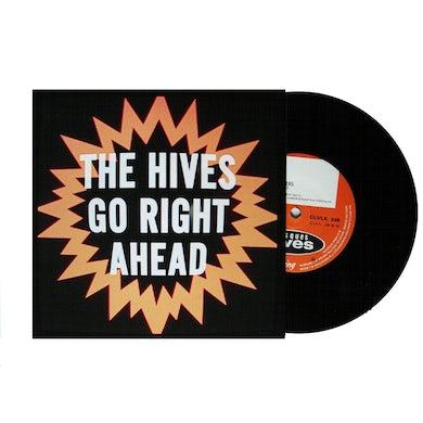 """The Hives GO RIGHT AHEAD SINGLE 7"""" VINYL"""