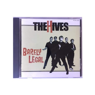 The Hives BARELY LEGAL CD