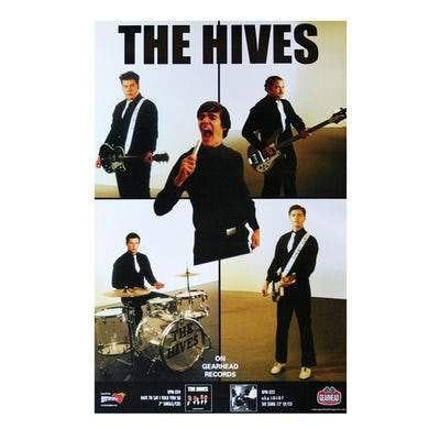 THE HIVES GEARHEADS RECORD POSTER