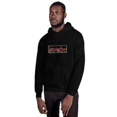 Black Impulse! Records Neon Logo Hoodie