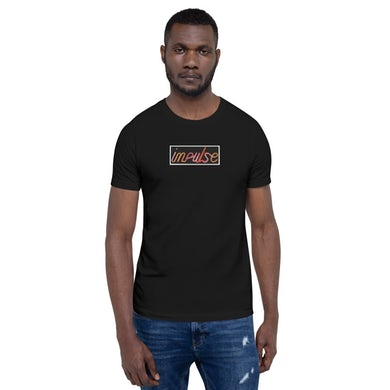 Black Impulse! Records Neon Logo T-Shirt