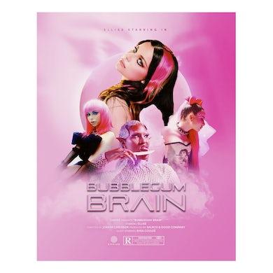 Ellise Bubblegum Brain Poster