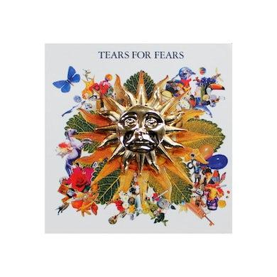 Tears For Fears GOLD SUN ENAMEL PIN BADGE