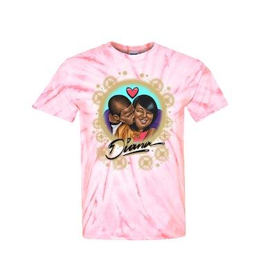 Diana Tee - Pink Tie Dye