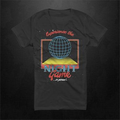 The Night Game Epcot Unisex Black T-shirt