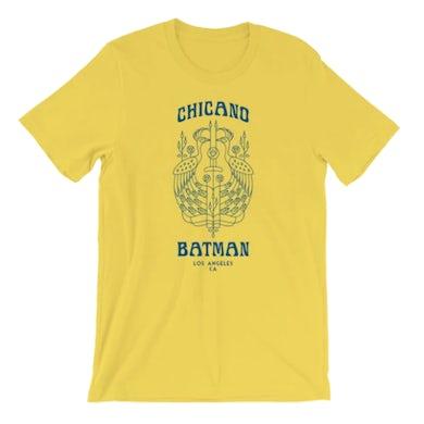 Chicano Batman Peacock Tee (Yellow)