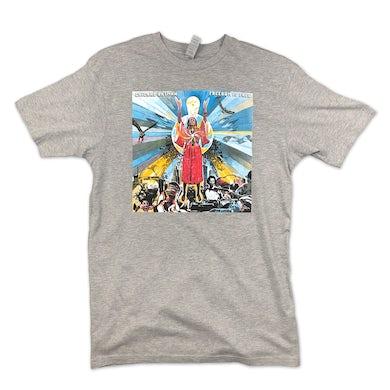 Chicano Batman Freedom Is Free Unisex T-Shirt (Grey)