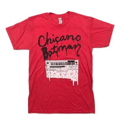Chicano Batman Melting Organ Tee (Red)