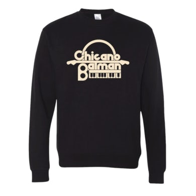 Chicano Batman Keyboard Crewneck Sweatshirt (Black)