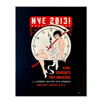New Years Eve 2013 Chicago, Illinois Poster