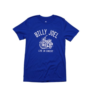 Billy Joel Royal Blue SS-08/26/16 Chicago Event/ Motorcycle