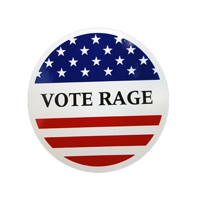 Prophets Of Rage Vote Rage Sticker