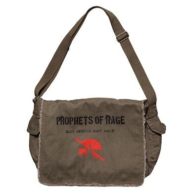 Prophets Of Rage Khaki Green Messenger Bag